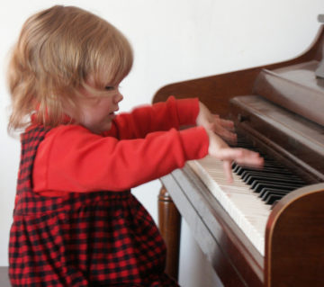 体験レッスンにて(3歳女児)の画像