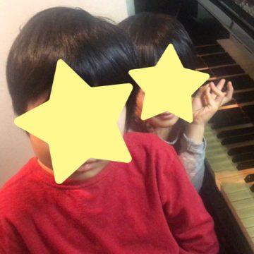 兄弟で一緒にピアノを習うとよいことの画像